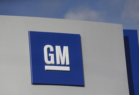 File Photo The Gm Logo Is Seen At General Motors Warren Transmission Operations Plant