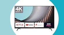 Upgrade your old HD telly with this smart 43-inch 4K model for under £300
