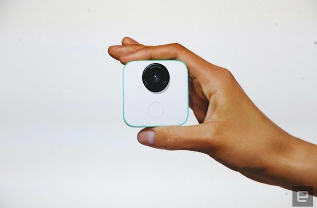 Google Clips camera lays the groundwork for our AI-powered future