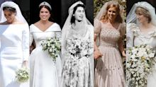 Top royal wedding dresses: From Meghan Markle to the Queen