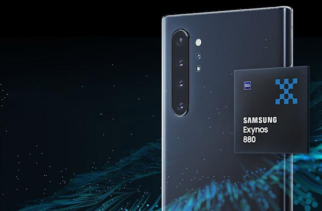 Samsung's Exynos 880 delivers 5G speeds to mid-range phones