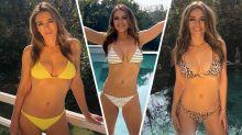 Liz Hurley looks fantastic modelling her bikinis, but how well is her swimwear business doing?