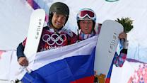 American husband, wife win medals for Russia