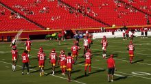 Chiefs first team to hold training camp practice with fans amid COVID-19 pandemic