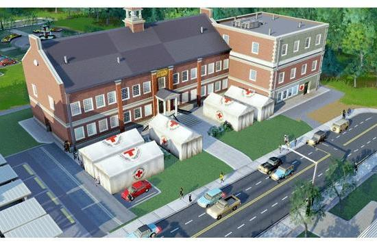 SimCity's Red Cross charity pack aids real-world disaster victims