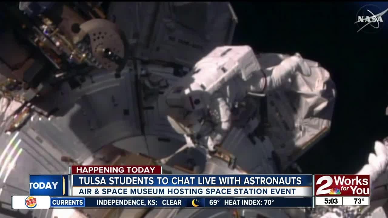 Local students to do live chat with NASA astronauts in space