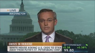 CEOs back out of Russia