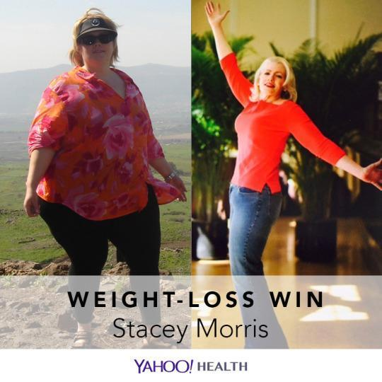Stacey Morris's 180-Pound Weight Loss: 'Giving Up Dieting ...