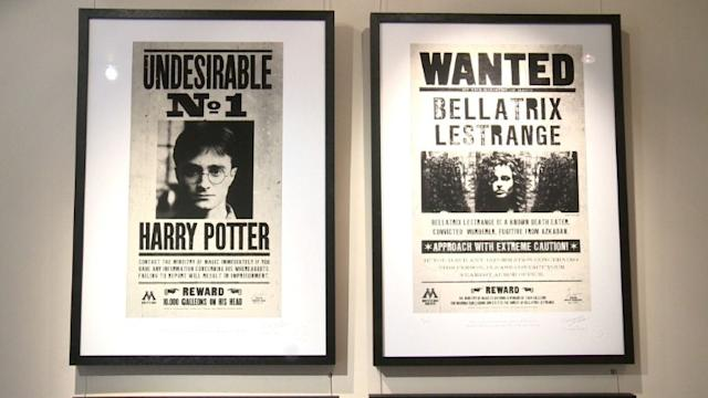 Universo de Harry Potter em galeria de Londres