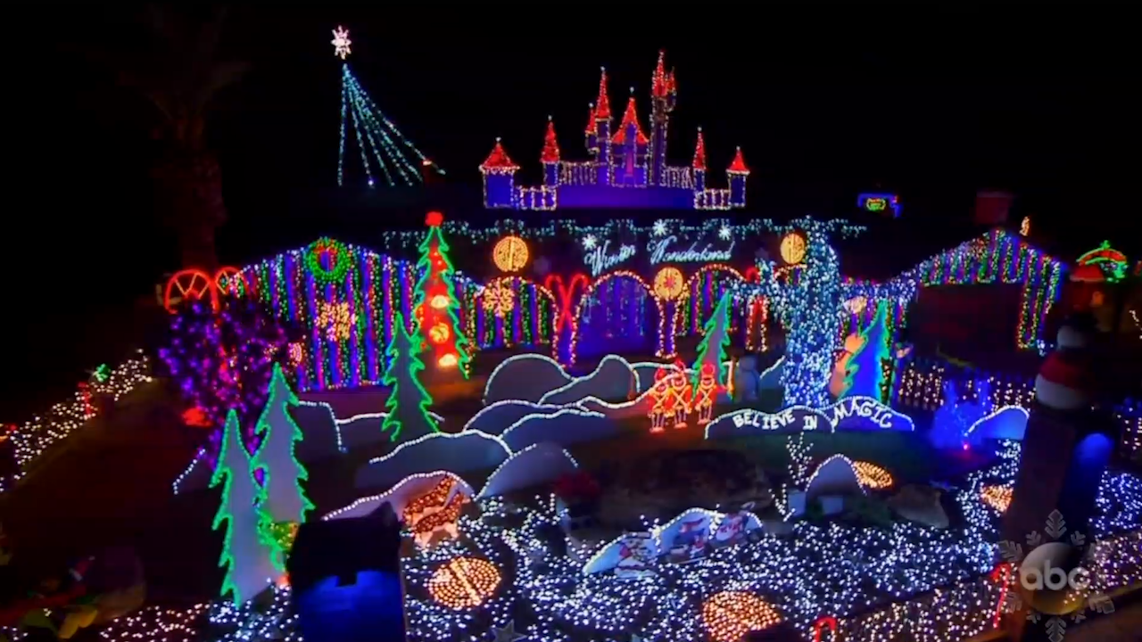 Christmas light court battle forces family to move their amazing ...