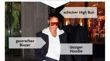 Look des Tages: Rihanna rockt den androgynen Business-Style