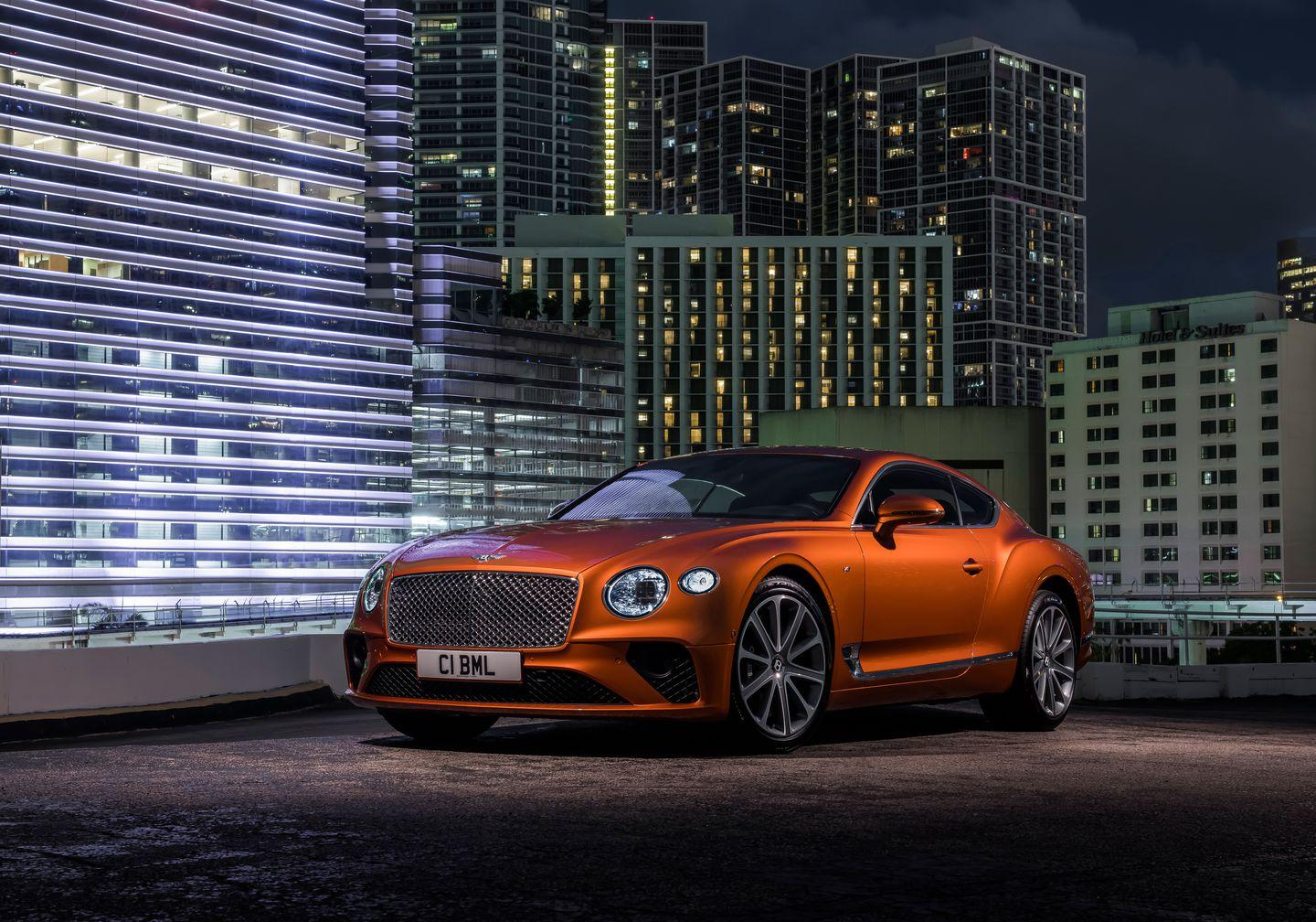"""<p><a href=""""https://www.caranddriver.com/reviews/a26470698/2019-bentley-continental-gt-by-the-numbers/"""" rel=""""nofollow noopener"""" target=""""_blank"""" data-ylk=""""slk:A Continental GT we tested with the W-12"""" class=""""link rapid-noclick-resp"""">A Continental GT we tested with the W-12</a> outran Bentley's own estimate with a scorching 3.3-second run to 60 mph, so we'd expect the V-8 model to be just a bit less brisk than that.</p>"""