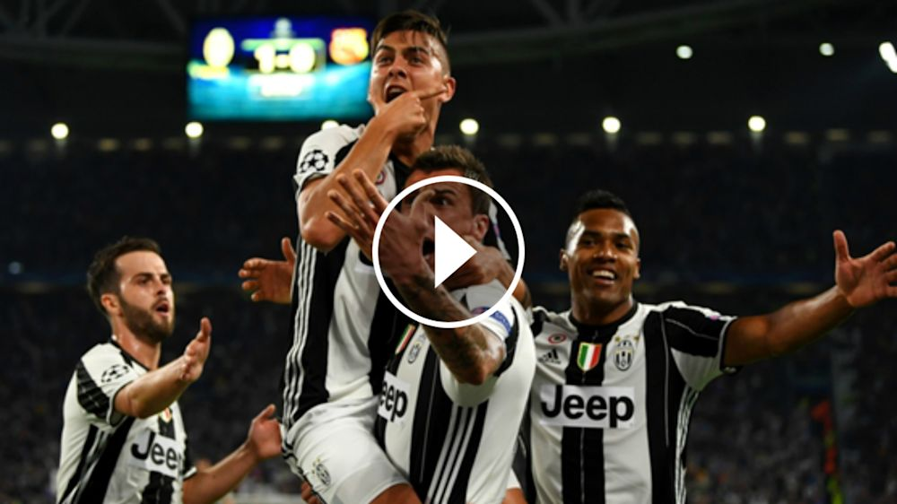 VÍDEO: La Juventus motiva a sus jugadores de cara al partido ante el Barcelona