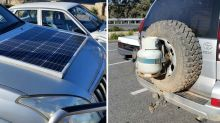 Driver fined after pulled over with bizarre 4WD modifications
