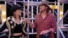 Miley Cyrus desperately tries to out-country Blake Shelton on 'The Voice'