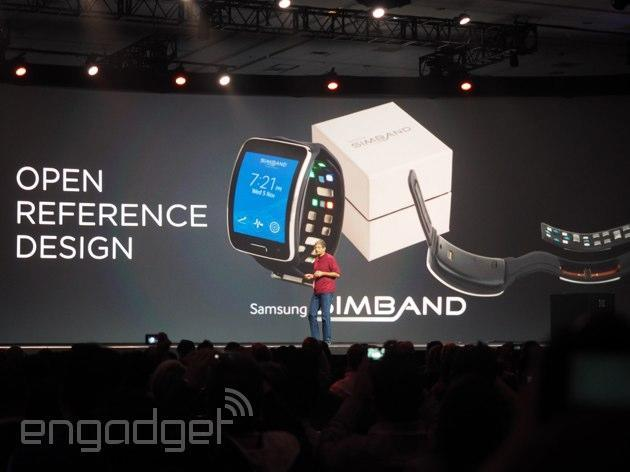 Samsung releases SIMBAND fitness wearable for developers