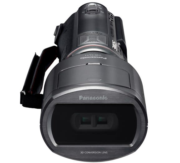 Panasonic reveals HDC-SDT750 3D camcorder, is super proud of itself (updated with video)