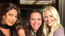 Quantico: Priyanka Chopra rocks a curly hairstyle; poses with co-star Johanna Braddy