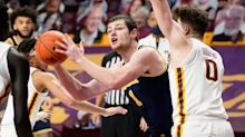 'It was tough': Michigan's Hunter Dickinson tied up in fits with Minnesota's double-teams