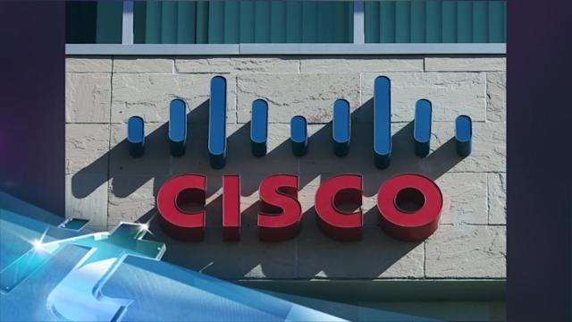 Cisco matches Wall Street expectations