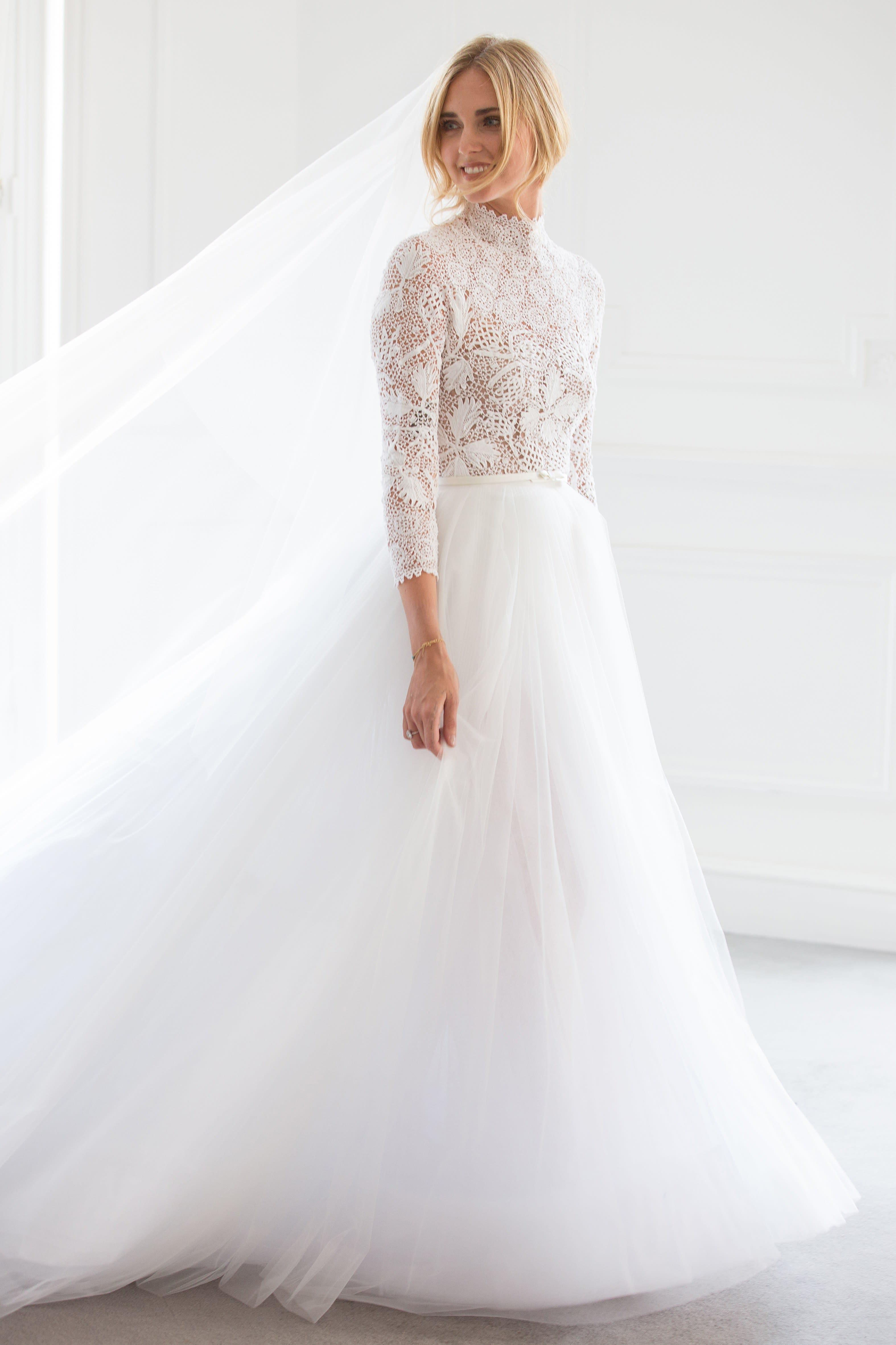 Chiara Ferragni S Wedding Dresses Explained By The Blonde