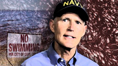 Red-tide awakening for Rick Scott in Florida