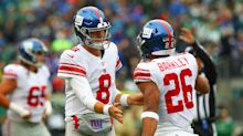 Giants looking into video of maskless Daniel Jones and Saquon Barkley partying at bar