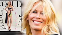 Claudia Schiffer, 48, poses naked for age-defying magazine cover