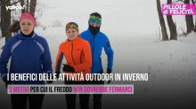 I benefici delle attività outdoor in inverno