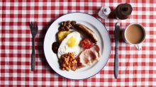 The 'world's biggest' English breakfast boasts 135 items in total