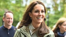 Duchess of Cambridge returns to work in boots she's owned for over 14 years