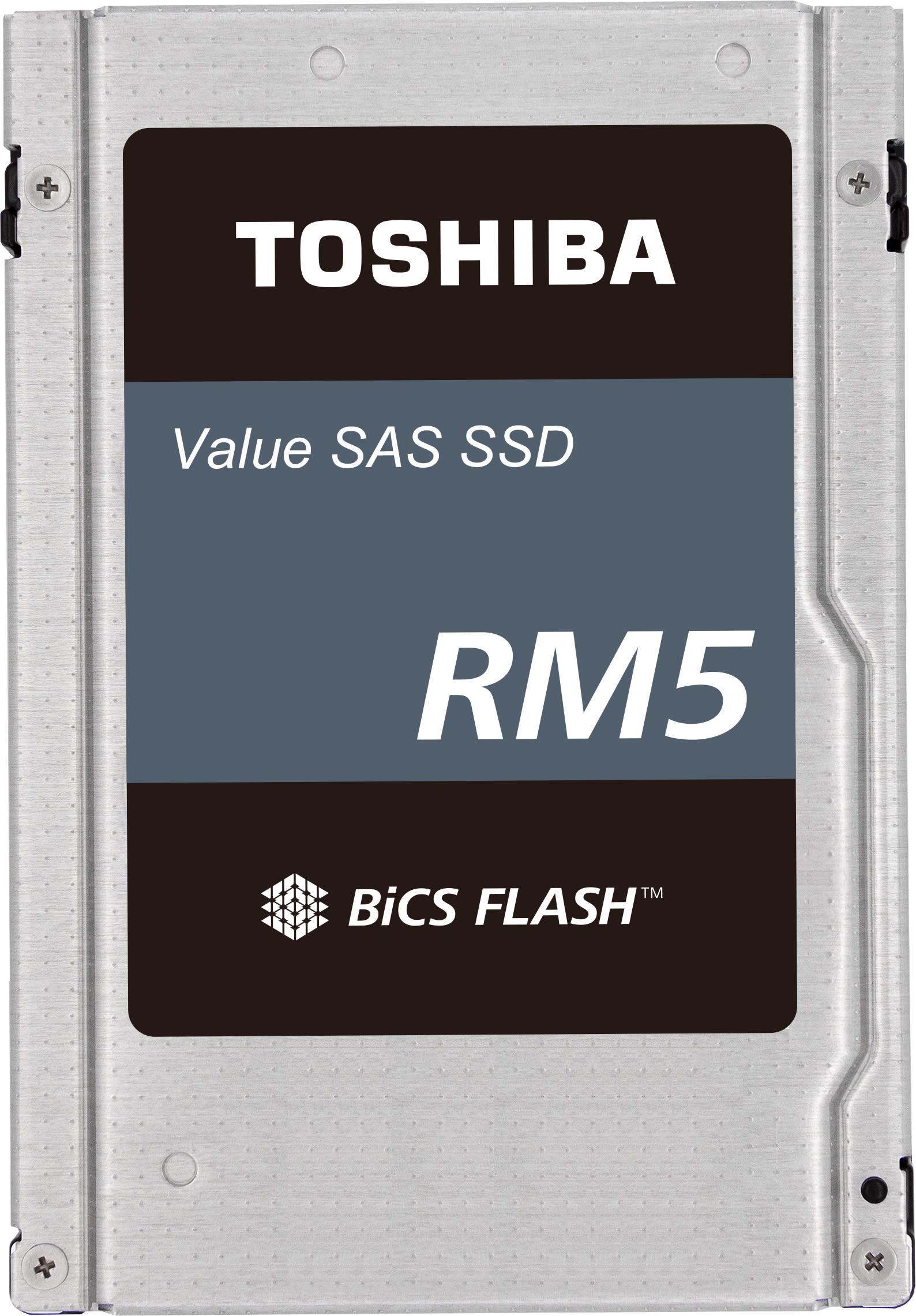 Toshiba Memory's Value SAS SSDs Earn VMware vSAN Certification Running on HPE ProLiant Gen10 Servers