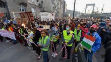 Hongrie: des milliers d'étudiants manifestent contre le gouvernement Orban