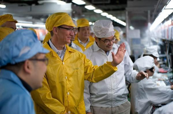 Report: Foxconn spending $210 million on Apple production line