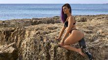 Primera atleta paralímpica posa en bikini para Sports Illustrated