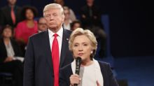 'Back up, you creep!': Clinton muses about tense Trump debate moment
