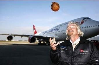 Virgin's coconut-powered 747 completes first flight