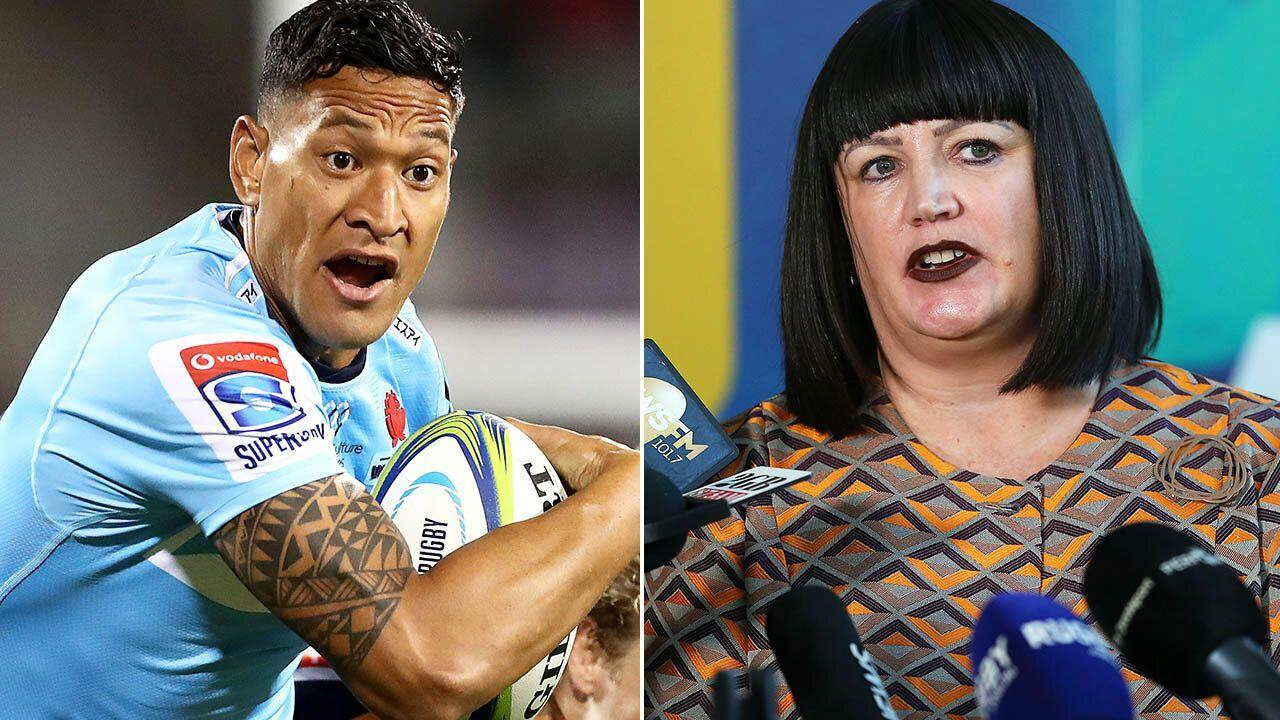 'He's invisible': Alan Jones drags Rugby chairman into Israel Folau saga