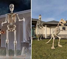 The mastermind behind Home Depot's viral 12-foot skeleton explains how it went from an idea at a haunted house to an internet sensation