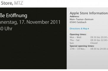 Newest German Apple Store to open Thursday