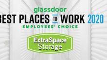 Extra Space Storage Named One Of The Best Places To Work In 2020, A Glassdoor Employees' Choice Award Winner