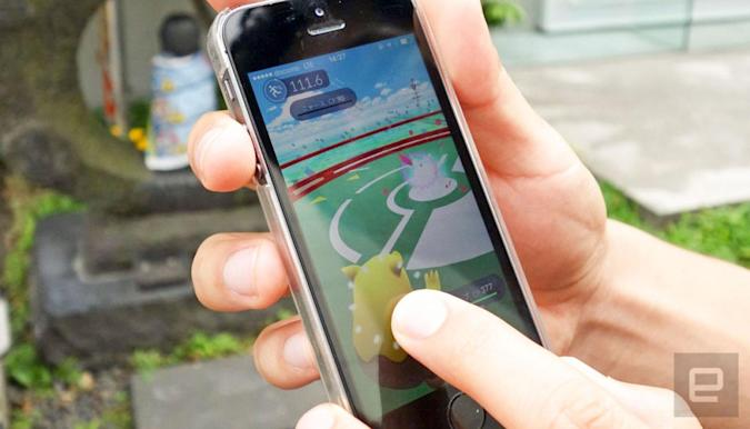 'Pokémon Go' rolls out on Android and iOS (update)