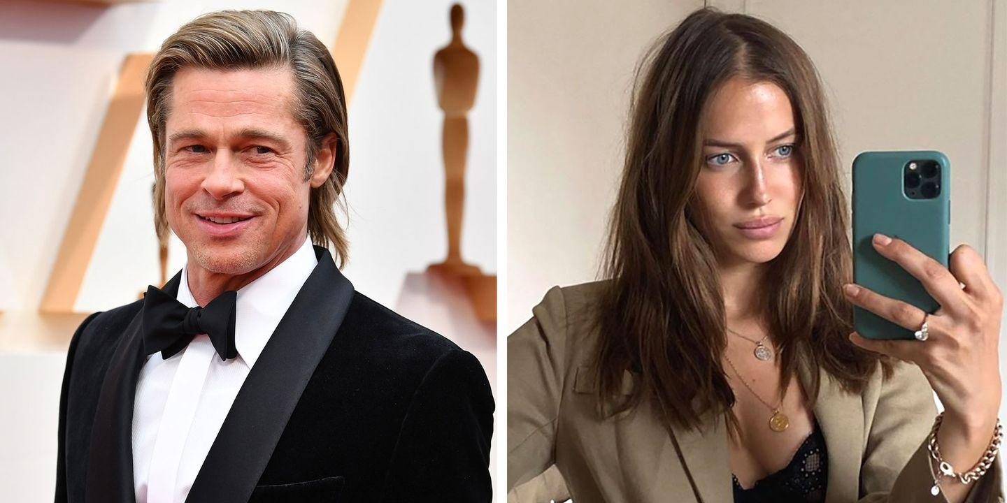 How Brad Pitt And Nicole Poturalski Met And Why They Kept Their Dating Secret