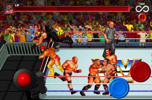 WWE WrestleFest on iOS today, coming to XBLA, PSN, PC, Android in 2012