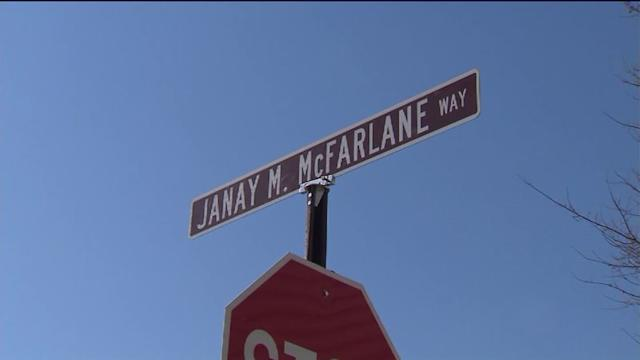 Street named young mother shot to death