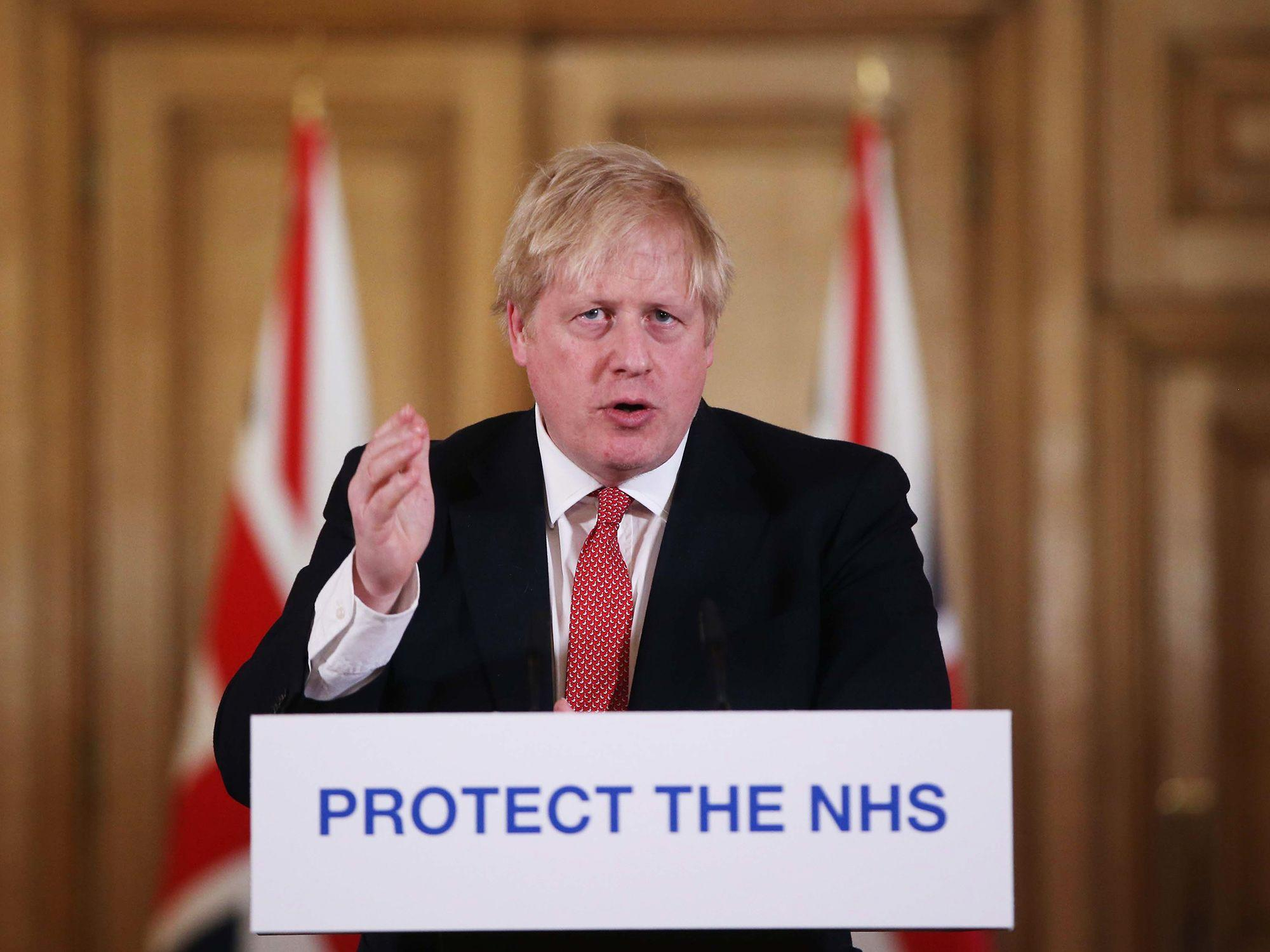 Boris Johnson returns to work, promising 'UK will emerge stronger'
