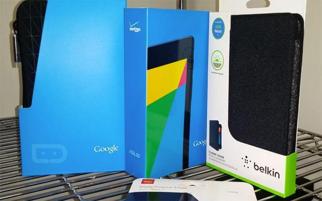 Verizon-ready Nexus 7 tablet sneaks into stores