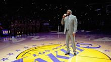 Magic Johnson takes over as Lakers president of basketball operations in stunning front-office shakeup