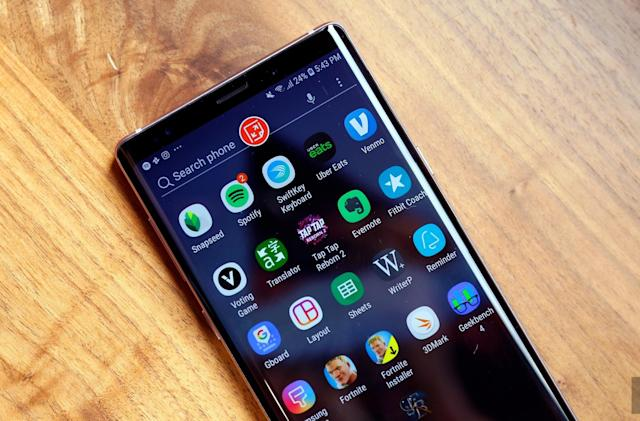 Samsung's Galaxy Note 9 is available today