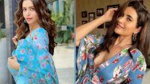Karishma Tanna's Midi Or Aamna Sharif's Anarkali, Whose Blue Floral Attire Is More Cheerful?